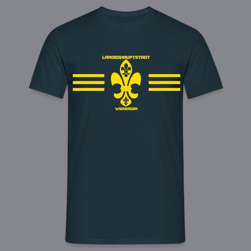 Wiesbadener Lilien - Männer T-Shirt