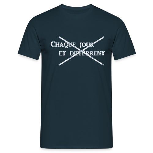 Chaque jour et différent - T-shirt Homme