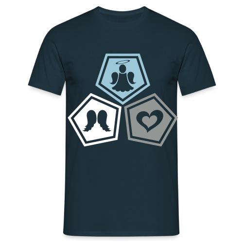 Tee shirt baseball Enfant Trio ange, ailes d'ange - Men's T-Shirt