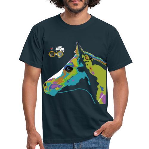 Spotted.Horse Appaloosa Colt Pop Art - Maglietta da uomo