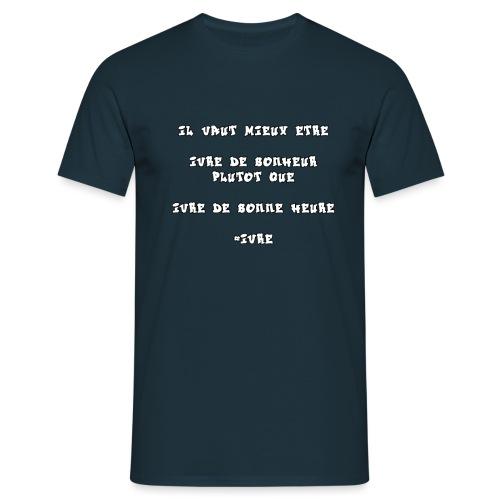 #IVRE - T-shirt Homme