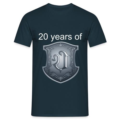 Ultimatium 20th anniversary T-shirt - Miesten t-paita