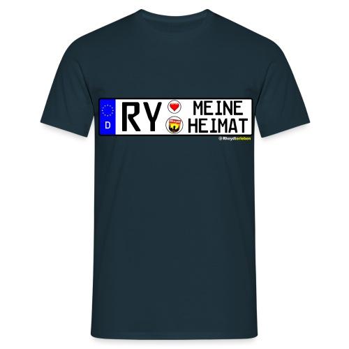 RY-MEINE HEIMAT - Männer T-Shirt