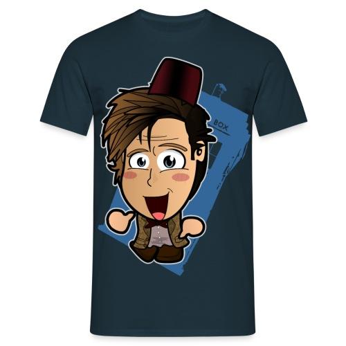 Chibi Doctor - 11th - Men's T-Shirt