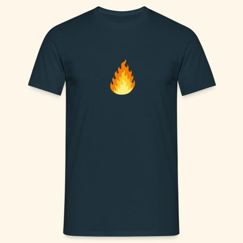 Logotipo Increíble de fuego - Camiseta hombre