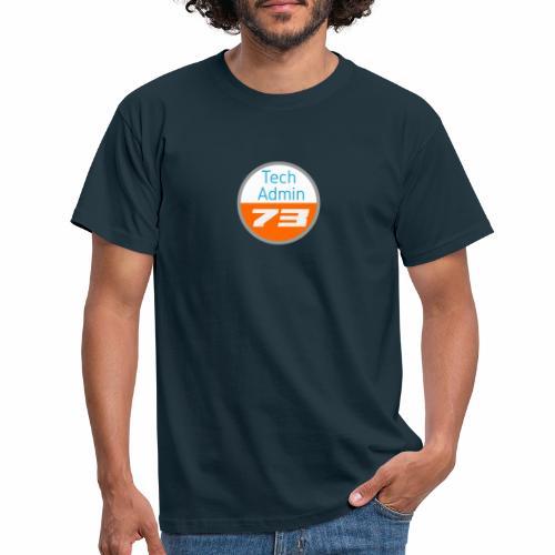 Tech Admin 73 - Männer T-Shirt
