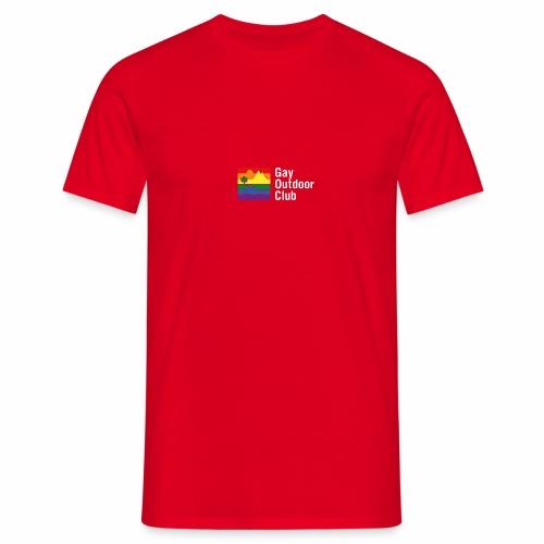 GOC Logo White Text - Men's T-Shirt