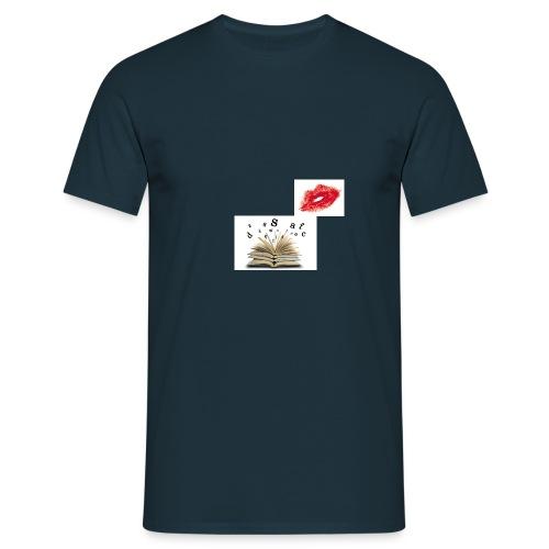 kussmund gr jpg - Männer T-Shirt