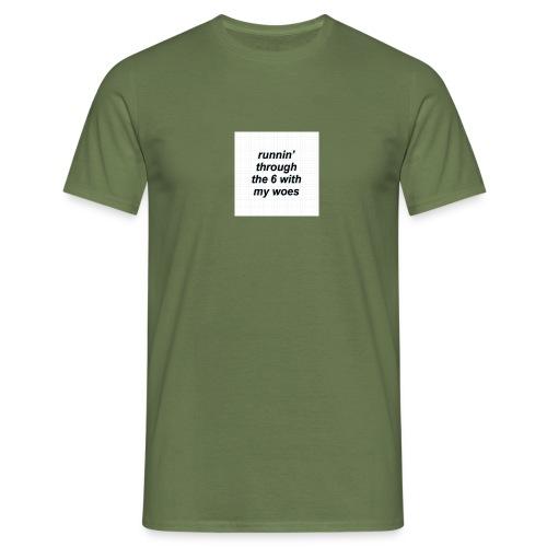 cap woes - Mannen T-shirt