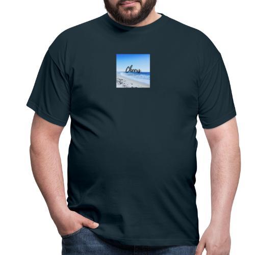 Cheers i love my corona - Männer T-Shirt