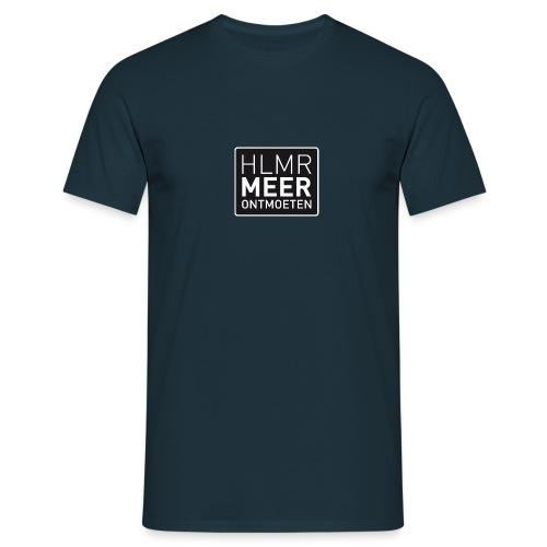 hlmr ontmoeten w op drukwer 500 - Mannen T-shirt