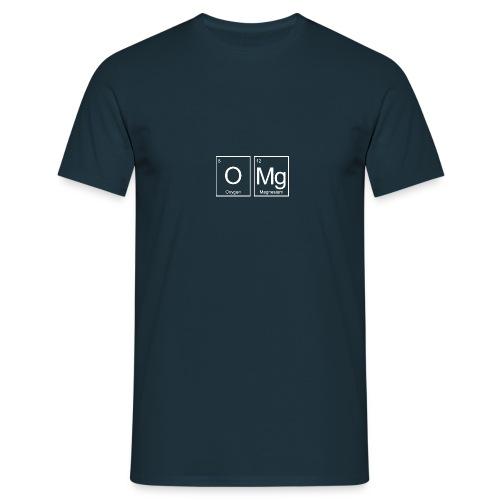 Element OMg hvit - T-skjorte for menn
