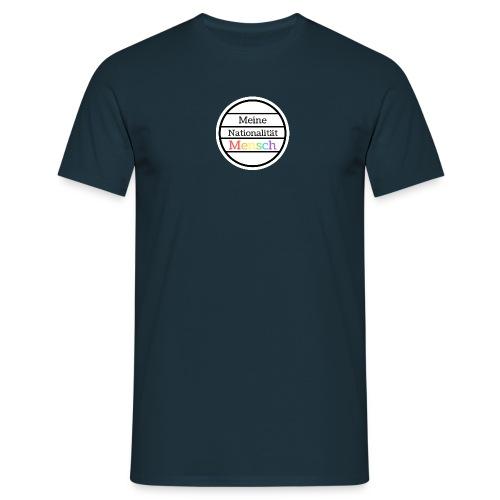 Nationalität Mensch - Männer T-Shirt