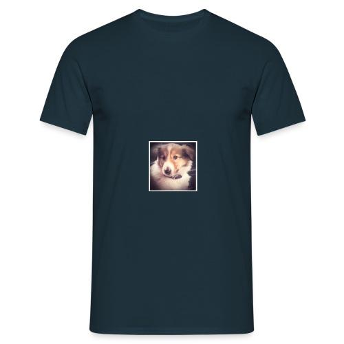 lassie puppy - Men's T-Shirt