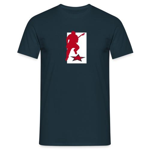 gitarrist - Männer T-Shirt