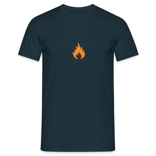 Flame WHITE - T-shirt Homme