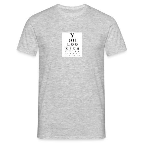 Eye chart - Miesten t-paita