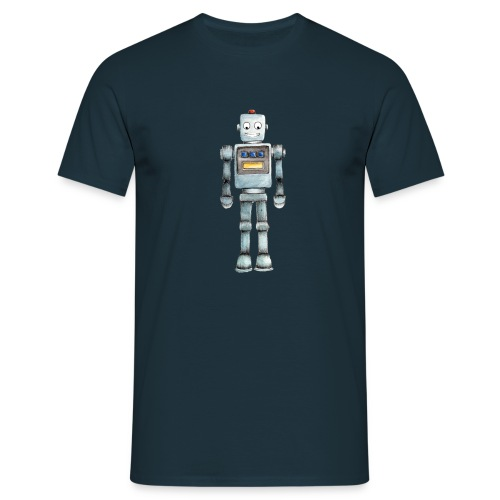 reggieTheRobot png - Men's T-Shirt
