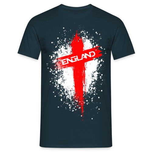 England Painted-Red - Men's T-Shirt