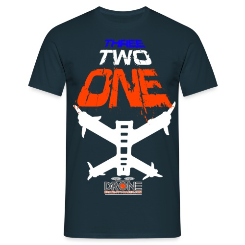 THREE TWO ONE DRONE prBEN - T-shirt Homme
