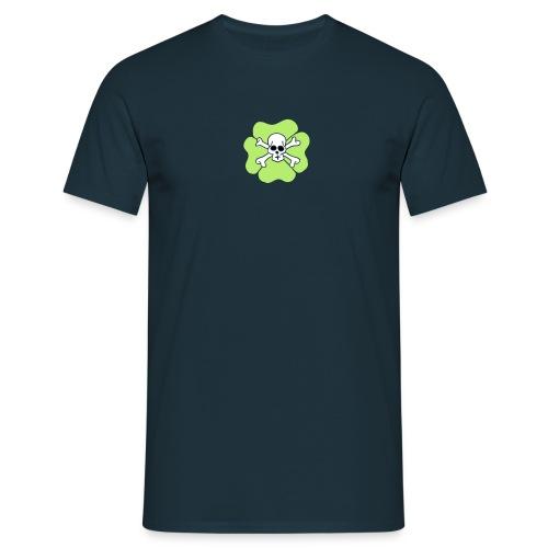 Ireland Clover Shamrock Saint patricks day Skulls - Männer T-Shirt