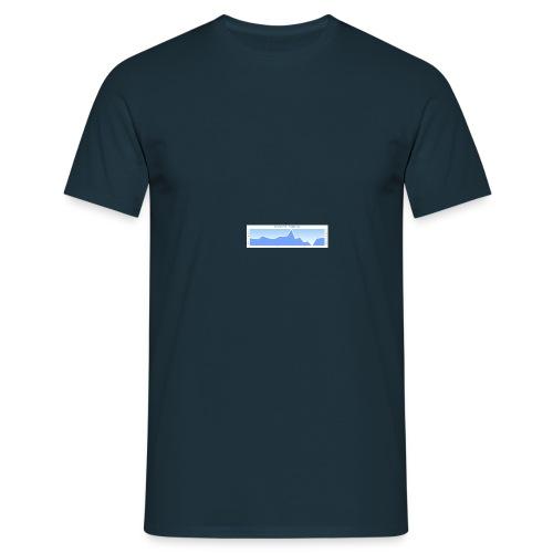 elevation_graph - Men's T-Shirt