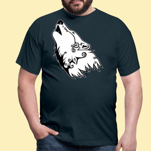 Le Loup de Neved (version contour blanc) - T-shirt Homme