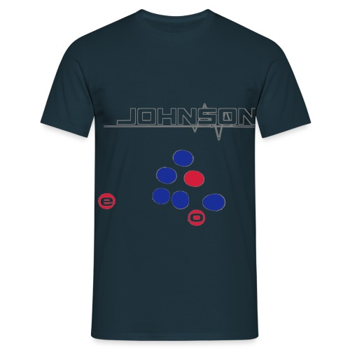 Johnson Schriftzug - Men's T-Shirt