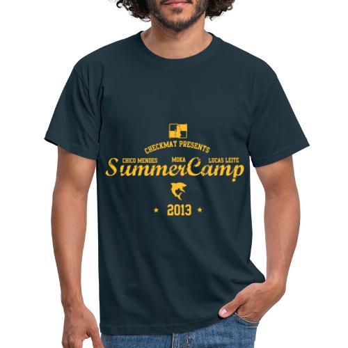 checkmat summer camp 2013 til trykker - Herre-T-shirt