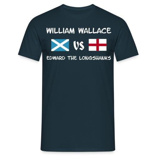 William vs Edward W - Männer T-Shirt
