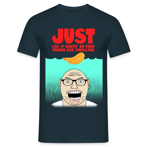Just Lay It Gently - Men's T-Shirt