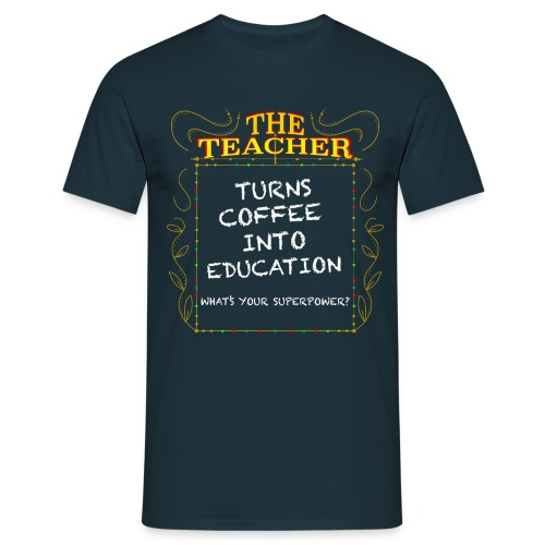The Teacher - Men's T-Shirt
