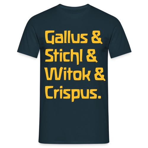 Gallus Stichl Witok Crispus - Männer T-Shirt