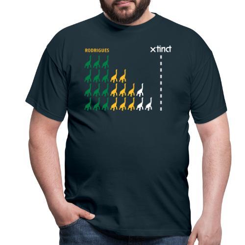 xtinct spreadshirtrodriguezdiagramm 2009 - Männer T-Shirt