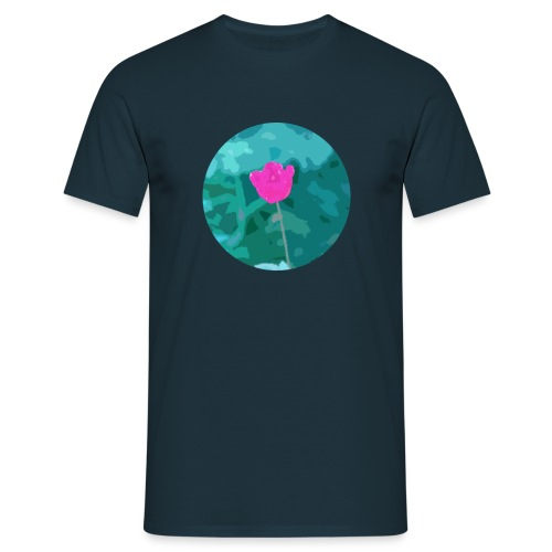 Flower power - Mannen T-shirt