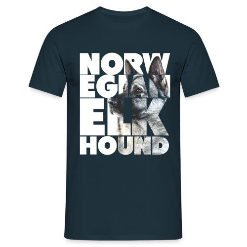 Norwegian Elkhound I - Miesten t-paita
