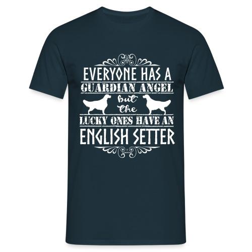 English Setter Angels - Miesten t-paita