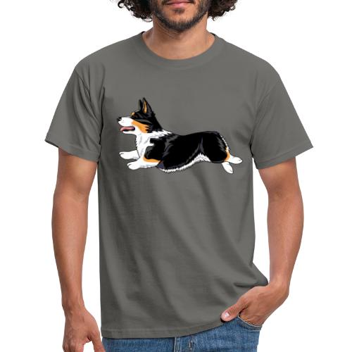 Welshcorgi2 - Miesten t-paita