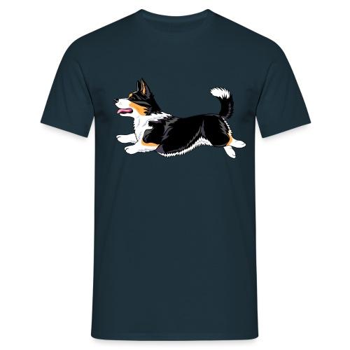 Welshcorgi6 - Miesten t-paita