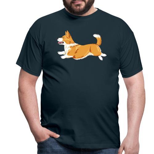 Welshcorgi3 - Miesten t-paita