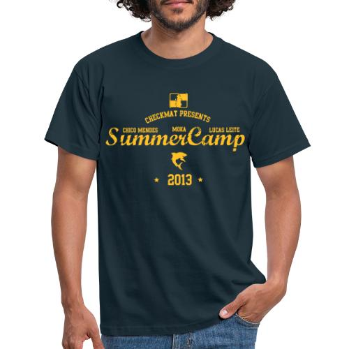 checkmat summer camp 2013 til trykker - Herre-T-shirt
