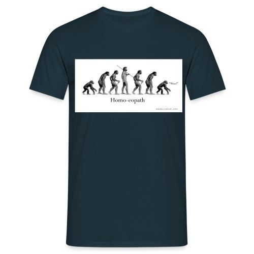 homoeopath classic textilesmousemat 120d - Men's T-Shirt