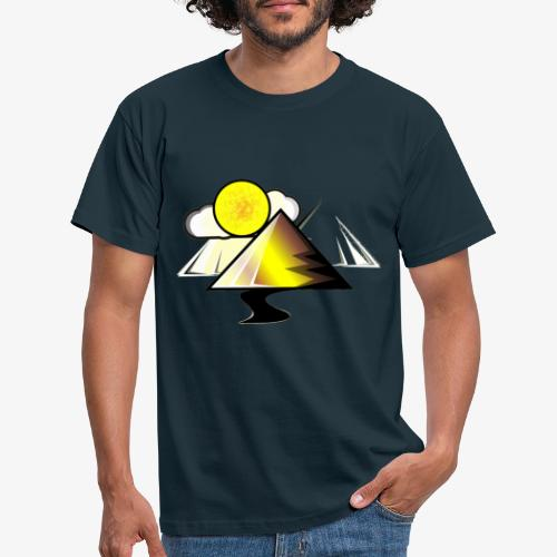 pyramid - Camiseta hombre