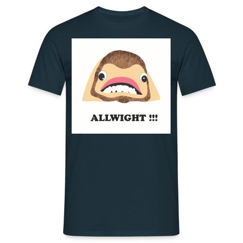 jpeg_chin_allwight - Men's T-Shirt