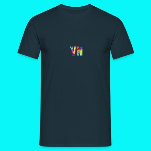 Velocity Networks Coloured Logo! - Men's T-Shirt