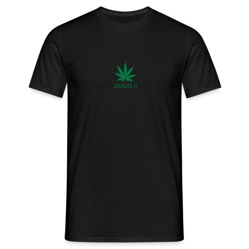legalize it - Miesten t-paita