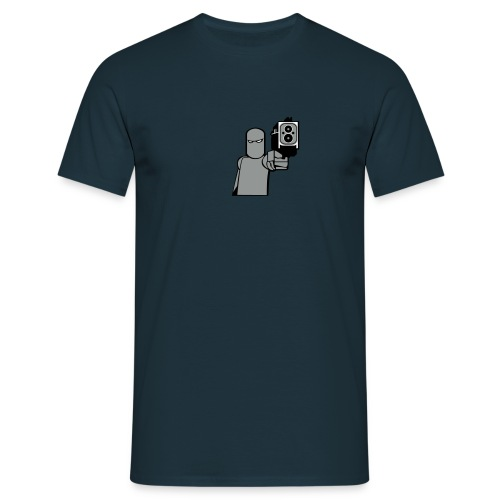 Perso Gris - T-shirt Homme