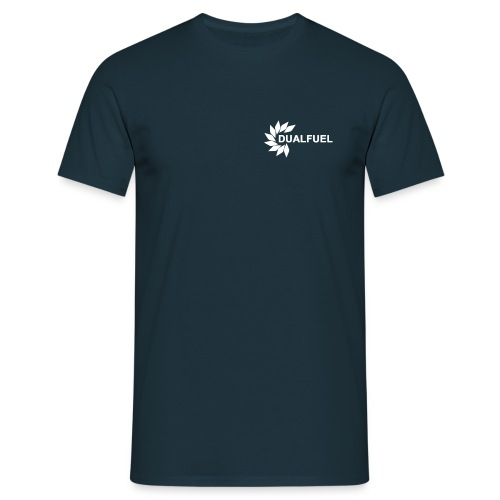 Logo and Text White png - Men's T-Shirt