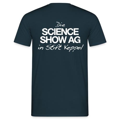 Science Show AG Logo - Männer T-Shirt