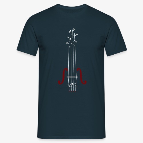 Viool Design - Mannen T-shirt